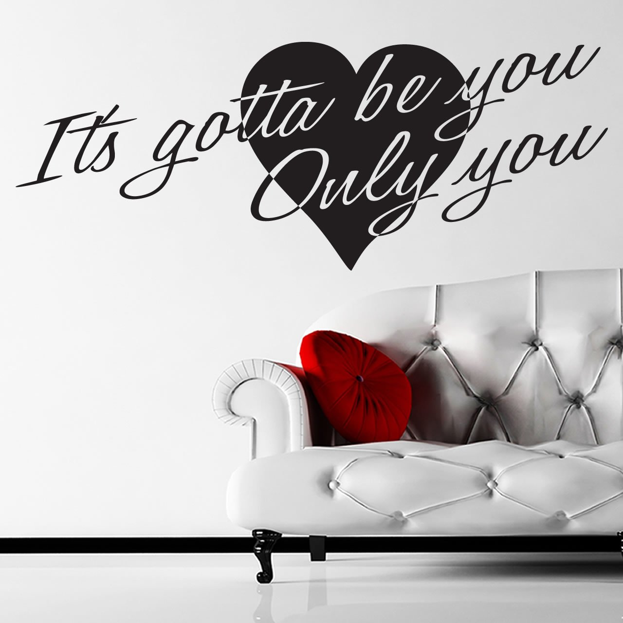 one direction gotta be you heart lyrics wall sticker best lyrics wall decals products on wanelo