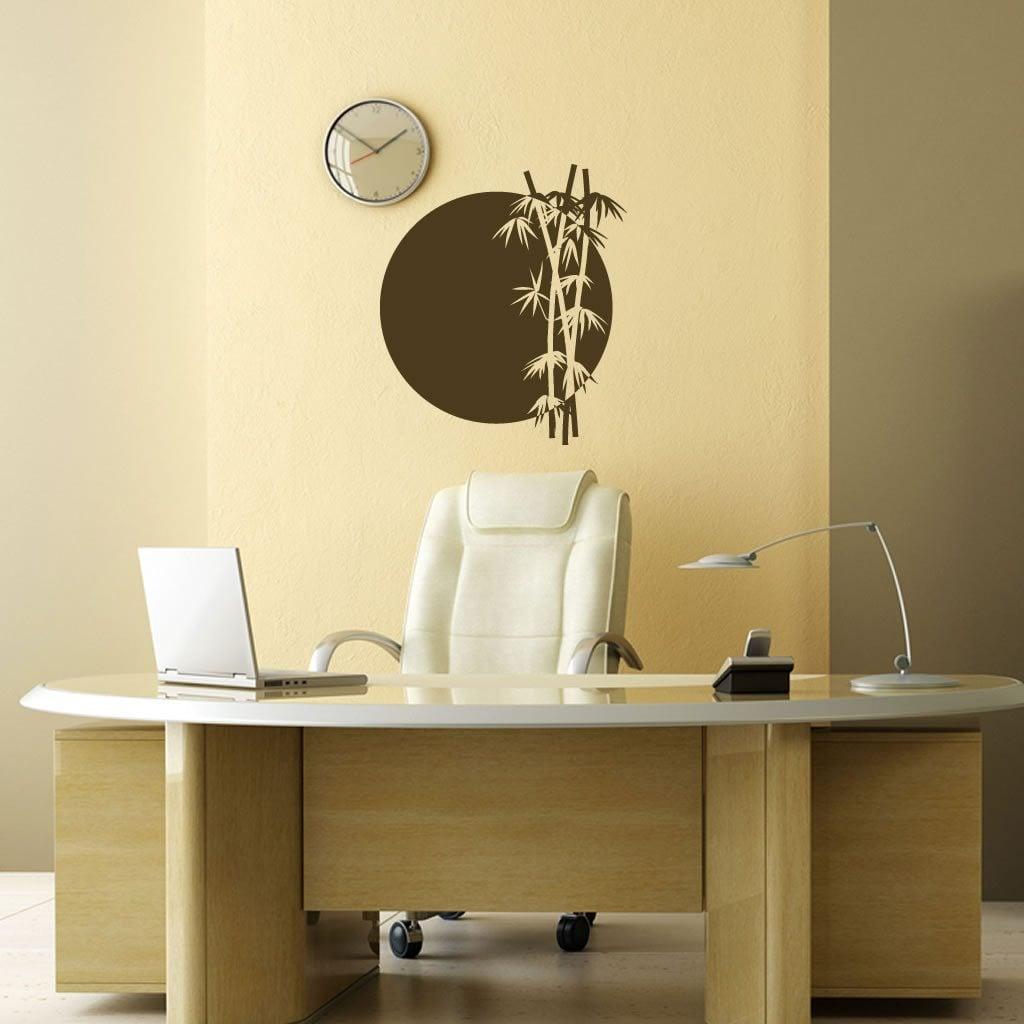 bamboo sun japanese chinese wall sticker decal ebay