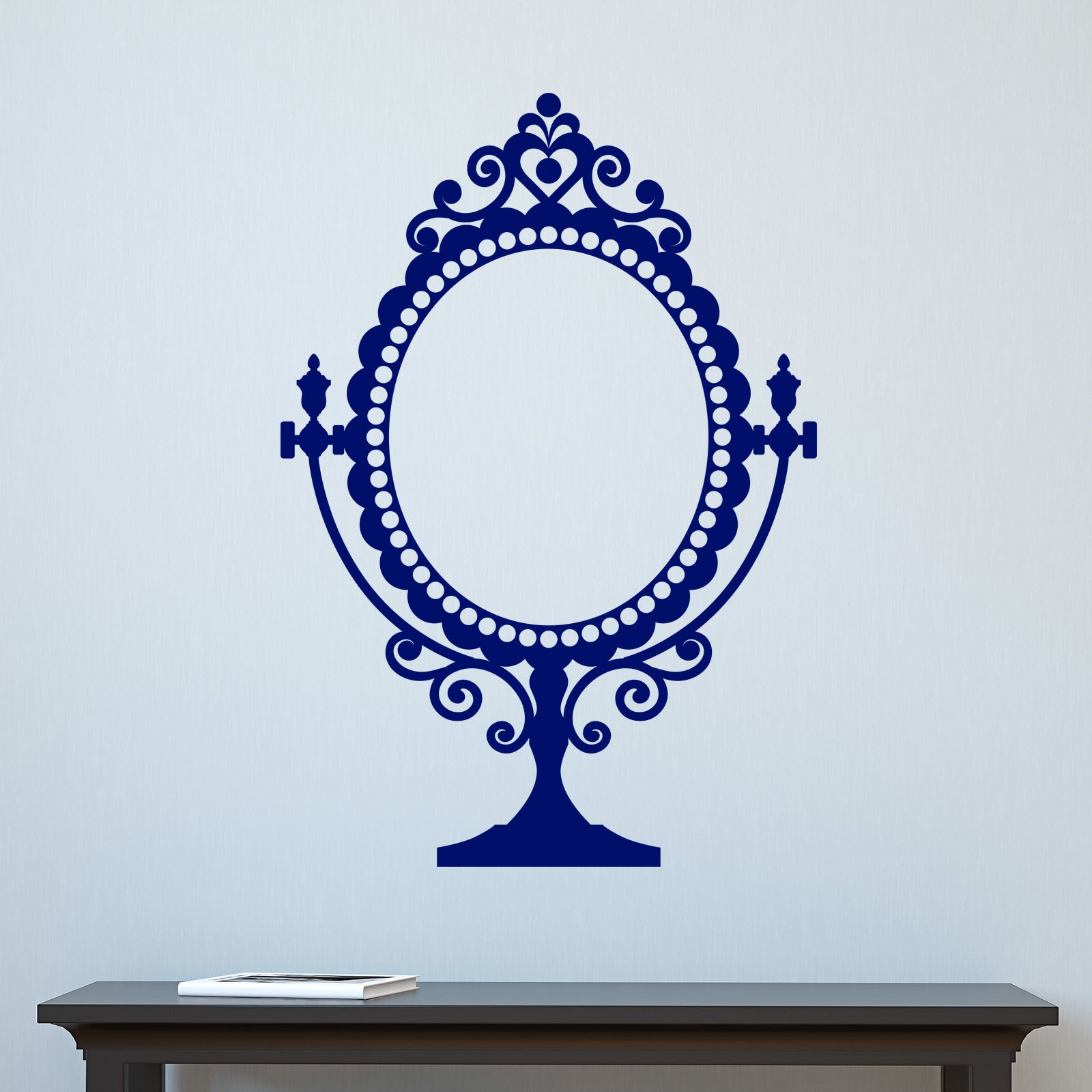 Decorative stickers for mirrors